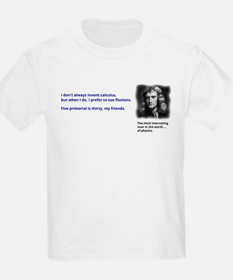 Isaac Newton - inventor of calculus T-Shirt