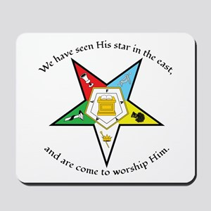 Eastern Star Matthew 2:2 Mousepad