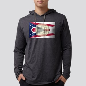 Ohio Quarter 2002 Mens Hooded Shirt