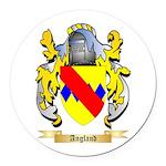 Angland Round Car Magnet