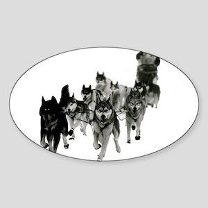GB Siberian Husky La Grande Odyssee Sticker