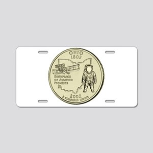 Ohio Quarter 2002 Basic Aluminum License Plate