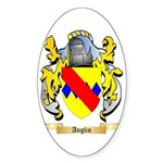 Anglin Sticker (Oval 50 pk)