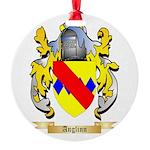 Anglinn Round Ornament