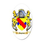 Anglinn Oval Car Magnet