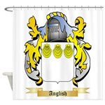Anglish Shower Curtain