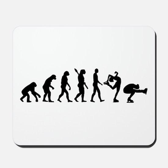 Evolution Figure skating Mousepad