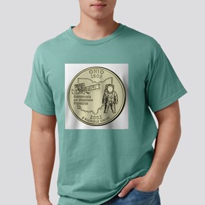 Ohio Quarter 2002 Basic Mens Comfort Colors Shirt