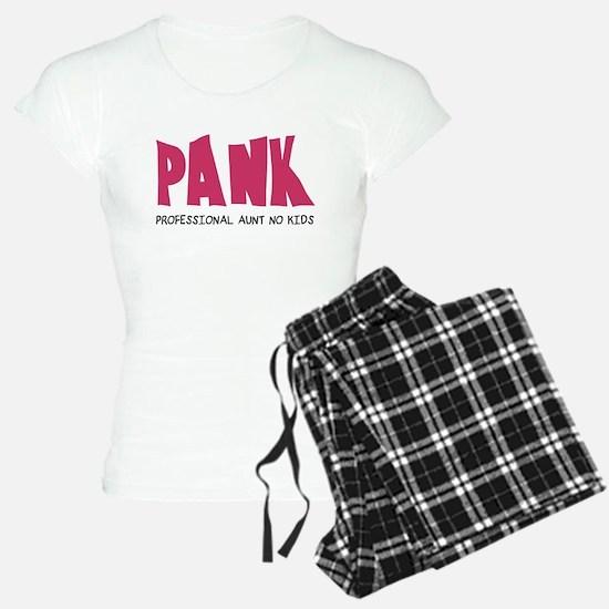 PANK Professional Aunt No Kids Pajamas