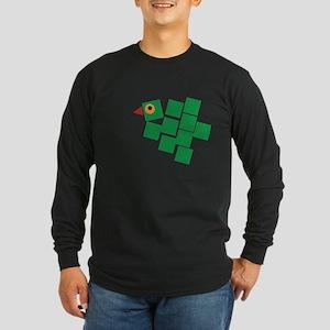 Parrot Long Sleeve Dark T-Shirt