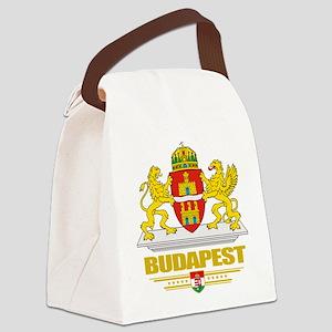 Budapest COA (Flag 10) Canvas Lunch Bag