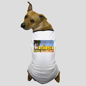 Harlingen Texas Greetings Dog T-Shirt