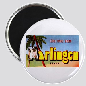 Harlingen Texas Greetings Magnet