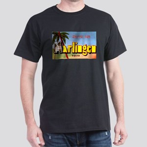 Harlingen Texas Greetings Dark T-Shirt
