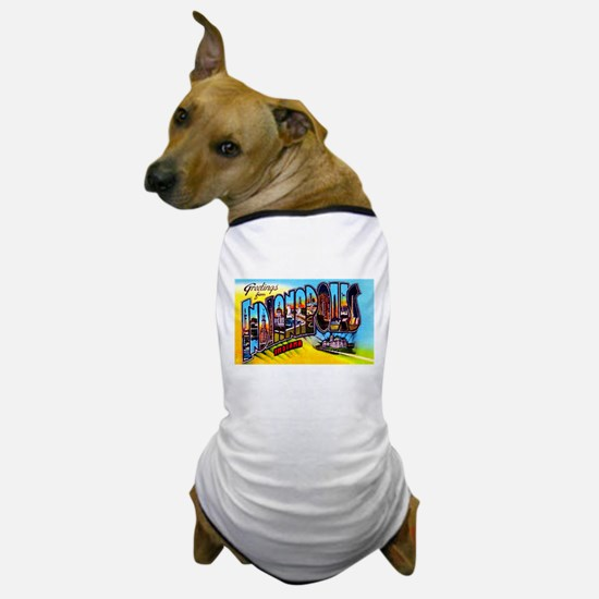 Indianapolis Indiana Greetings Dog T-Shirt