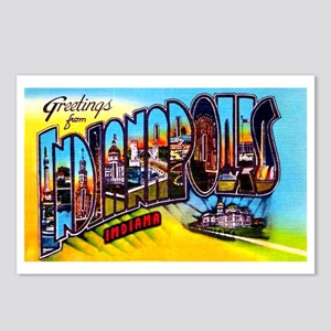 Indianapolis Indiana Greetings Postcards (Package