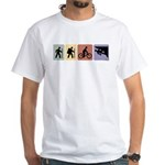 Multi Sport Guys: White T-Shirt