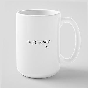 no hit wonder Large Mug