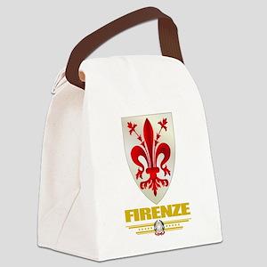 Firenze (Flag 10) Canvas Lunch Bag