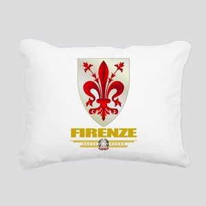 Firenze (Flag 10) Rectangular Canvas Pillow