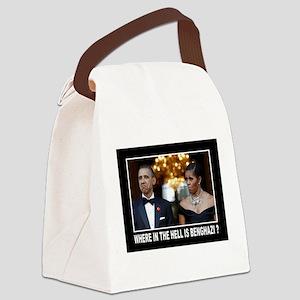 BENGHAZI? Canvas Lunch Bag