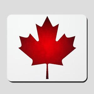 Maple Leaf Grunge Mousepad