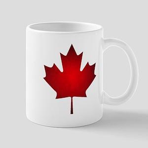 Maple Leaf Grunge Mug
