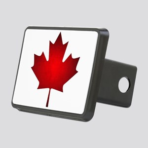 Maple Leaf Grunge Rectangular Hitch Cover
