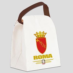 Rome (Flag 10) Canvas Lunch Bag