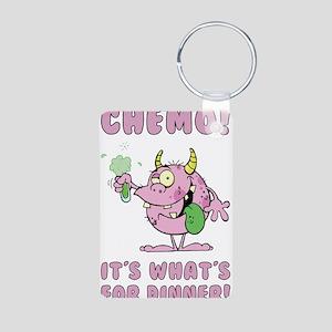 CHEMO Aluminum Photo Keychain