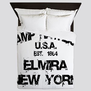Elmira POW Camp Queen Duvet
