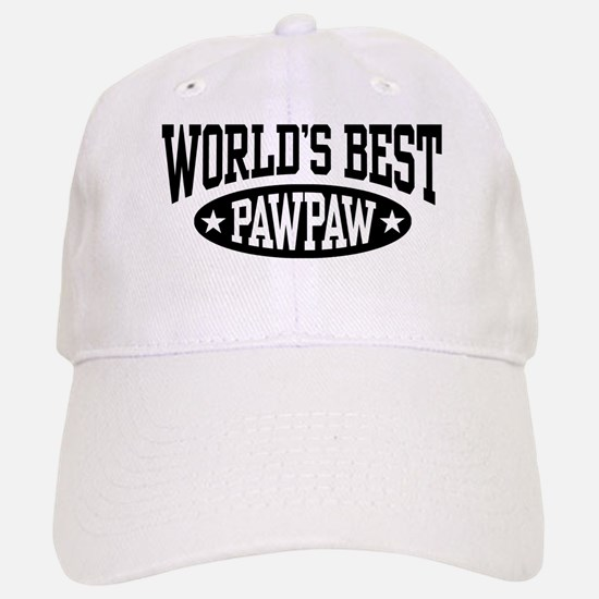 World's Best PawPaw Baseball Baseball Cap