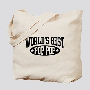 World's Best Pop Pop Tote Bag