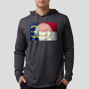 North Carolina Quarter 2001 Mens Hooded Shirt