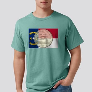 North Carolina Quarter 2001 Mens Comfort Colors Sh