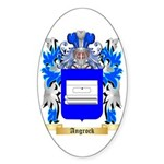 Angrock Sticker (Oval 50 pk)