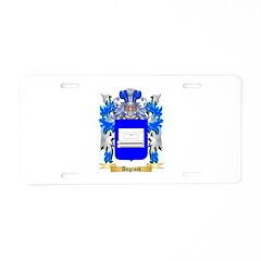 Angrock Aluminum License Plate