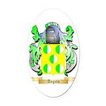 Angulo Oval Car Magnet