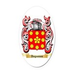 Angusson Oval Car Magnet