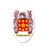 Angusson 35x21 Oval Wall Decal