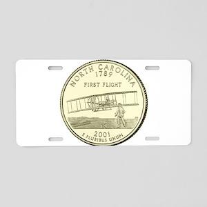 North Carolina Quarter 2001 Basic Aluminum License