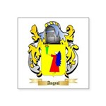 Angyal Square Sticker 3