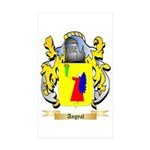 Angyal Sticker (Rectangle 50 pk)