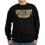 World's Best Poppy Sweatshirt (dark)