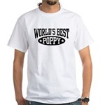World's Best Poppy White T-Shirt