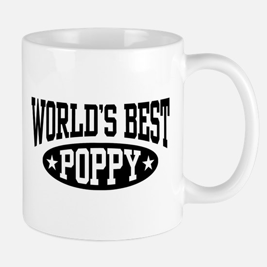 World's Best Poppy Mug