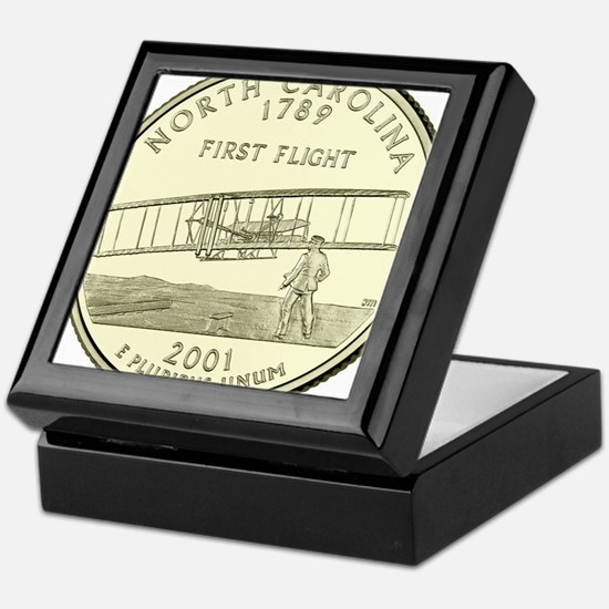 North Carolina Quarter 2001 Basic Keepsake Box