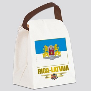 Riga (Flag 10)2 Canvas Lunch Bag