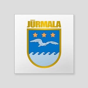 "Jurmala COA Square Sticker 3"" x 3"""
