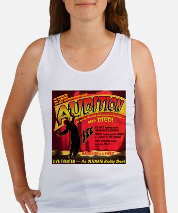 Audition Horror Movie Women's Tank Top